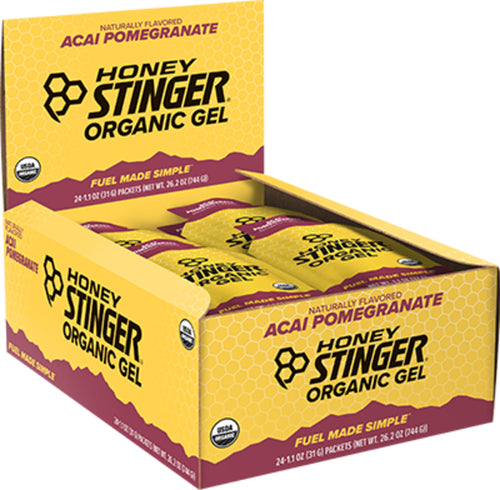 Honey Stinger Organic Energy Gel - Box of 24, Nutrition, Honey Stinger | athleti.ca