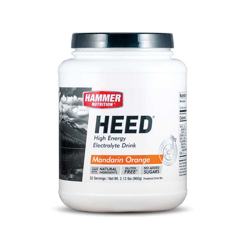 Hammer Nutrition HEED Energy Electrolyte Drink - 32 Servings, Nutrition, Hammer