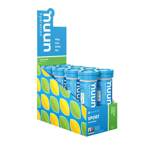 Nuun Sport Electrolyte Tablets, 8 tubes per Box, Nutrition, nuun | athleti.ca