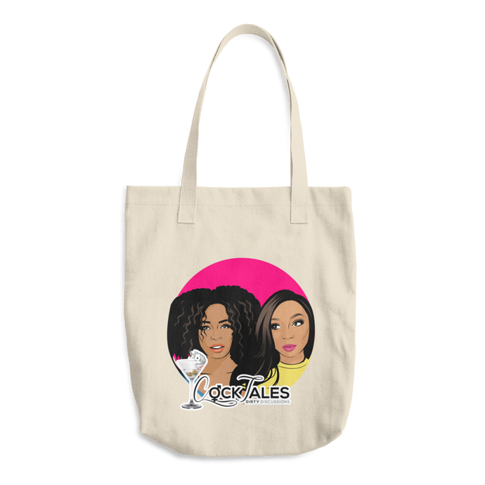 Cartoon Logo Tote Bag
