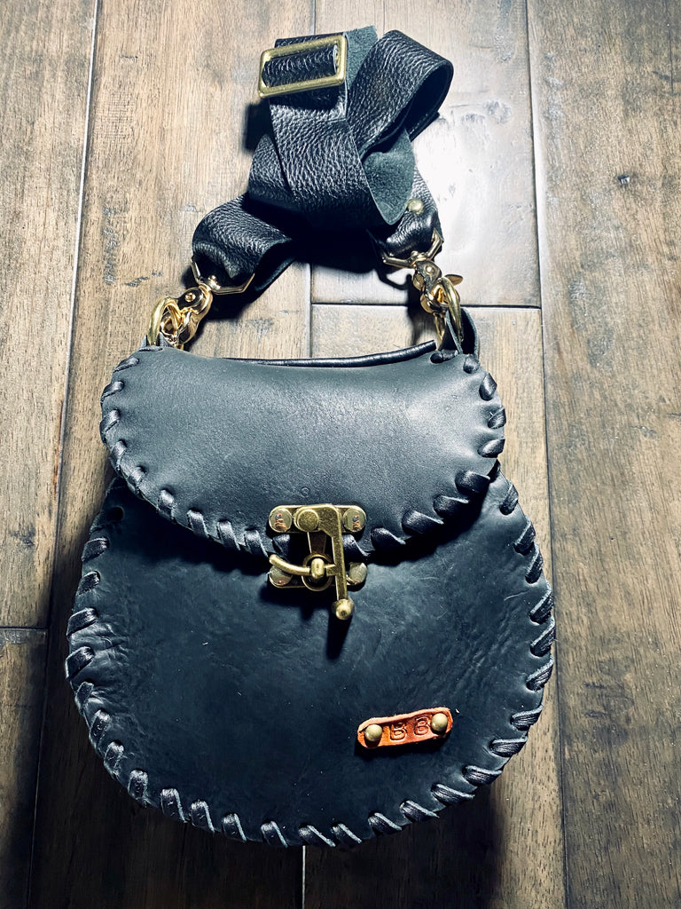 """Ko-Ko"" Beaded Saddle Bag"