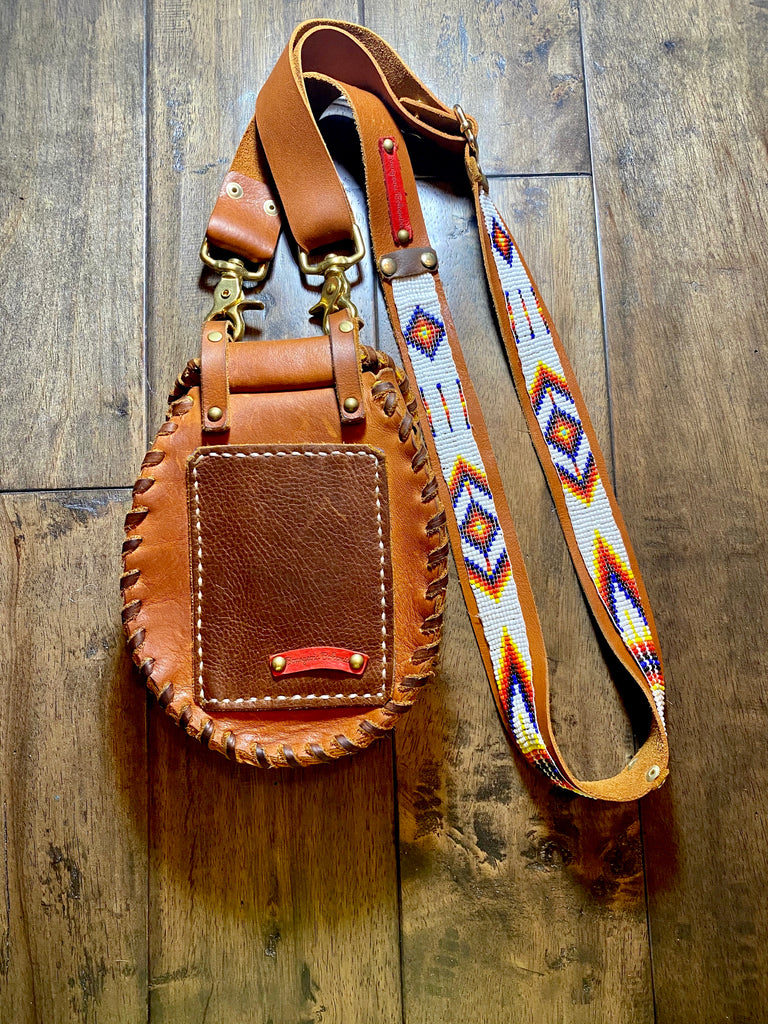 "Beaded ""Mini Queenie"" - Crossbody"
