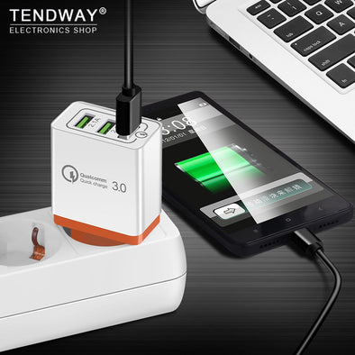 Tendway Qc 3.0 Fast Usb Wall Travel Charger