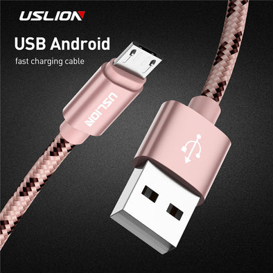 USLION Micro USB Cable, 2A Fast Charge