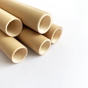 Bamboo straw 4 pack