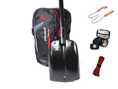 Survival snowmobile backpack +4 item
