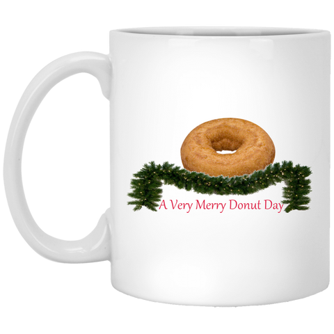 Very Merry Plain XP8434 11 oz. White Mug