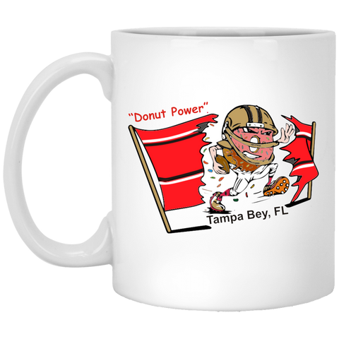 Tampa Bey XP8434 11 oz. White Mug