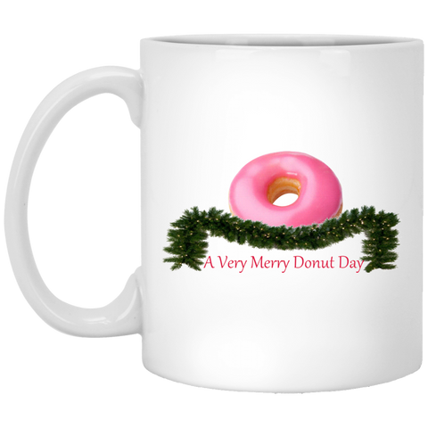 Very Merry Pink XP8434 11 oz. White Mug