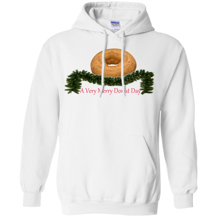 Very Merry Plain G185 Gildan Pullover Hoodie 8 oz.
