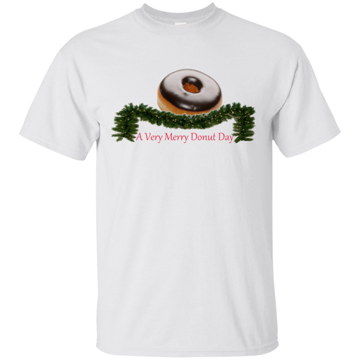 Very Merry Chocolate G200 Gildan Ultra Cotton T-Shirt