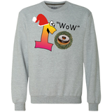 Wow Chocolate G920 Gildan Heavyweight Crewneck Sweatshirt 9 oz.