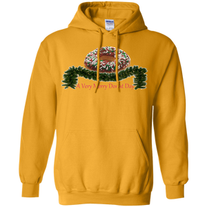 Very Merry Sprinkjes Chocolate G185 Gildan Pullover Hoodie 8 oz.