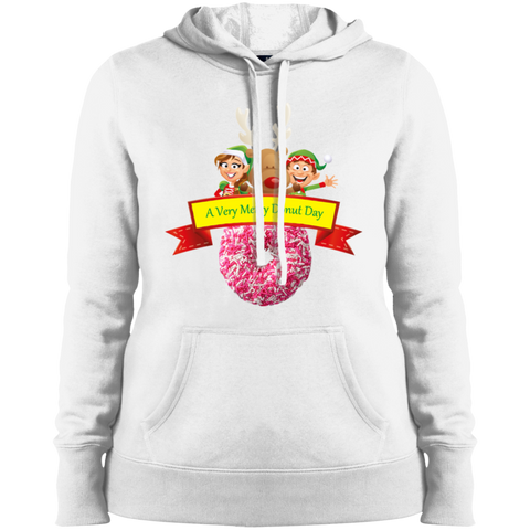 Elves Sprinkles Pink LST254 Sport-Tek Ladies' Pullover Hooded Sweatshirt