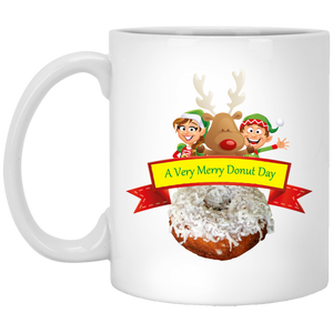 Elves Coconut XP8434 11 oz. White Mug