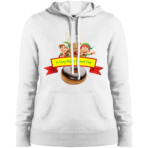 Elves Chocolate LST254 Sport-Tek Ladies' Pullover Hooded Sweatshirt