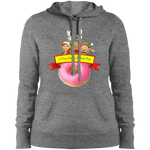 Elves Pink LST254 Sport-Tek Ladies' Pullover Hooded Sweatshirt