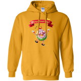 Merry Donut Day Pullover Hoodie 8 oz.