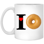 I Love XP8434 11 oz. White Mug