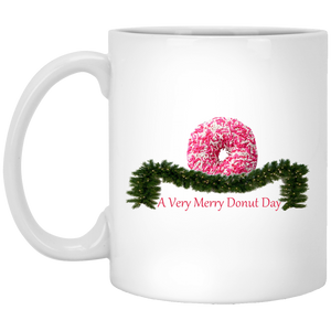 Very Merry Sprinkles Pink XP8434 11 oz. White Mug