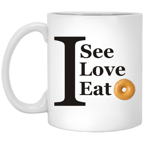 I see XP8434 11 oz. White Mug