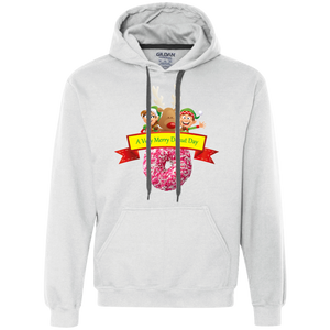 Elves Sprinkles Pink G925 Gildan Heavyweight Pullover Fleece Sweatshirt