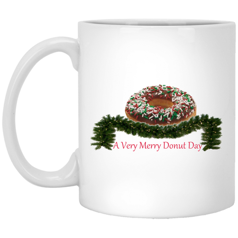 Very Merry Sprinkjes Chocolate XP8434 11 oz. White Mug