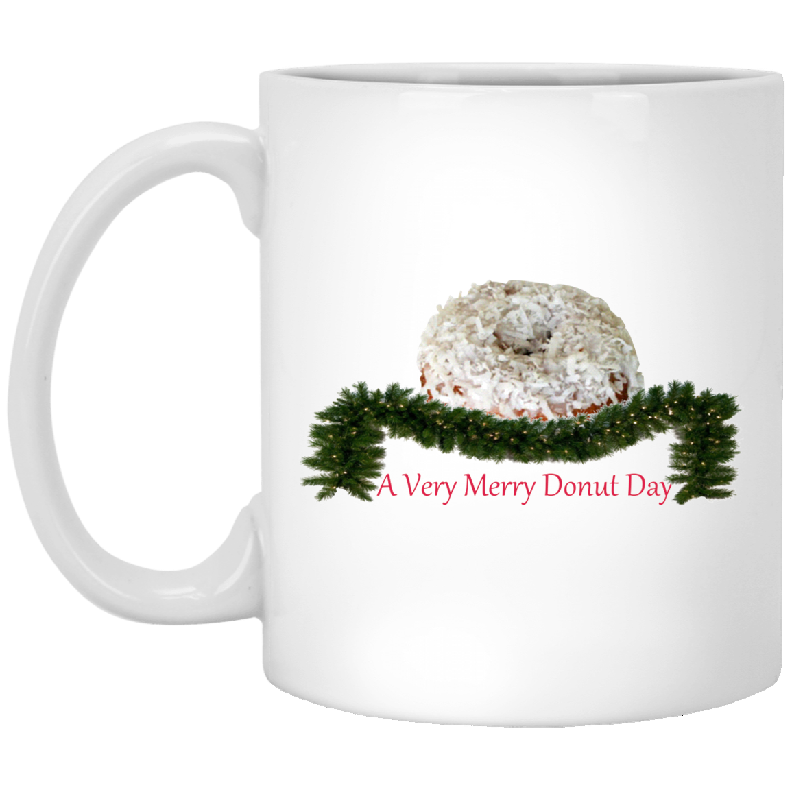 Very Merry Coconut XP8434 11 oz. White Mug