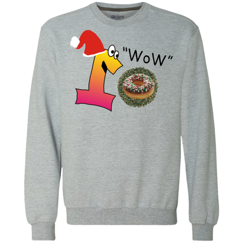 Wow Sprinkels Chocolate G920 Gildan Heavyweight Crewneck Sweatshirt 9 oz.