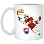 NDLPlayer XP8434 11 oz. White Mug
