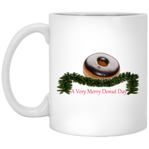Very Merry Chocolate XP8434 11 oz. White Mug
