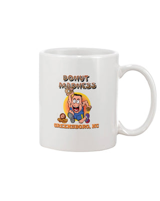 Donut Madness 11oz Mug - Greensboro, NC
