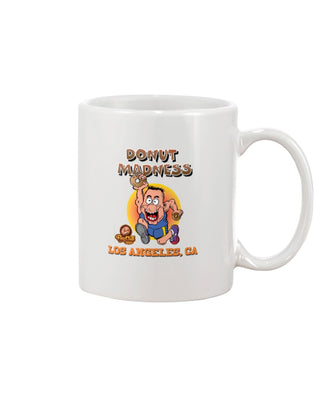 Los Angeles CA, Donut Madness 11oz Mug