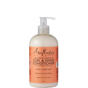 SheaMoisture Coconut & Hibiscus Curl & Shine Conditioner 384ml
