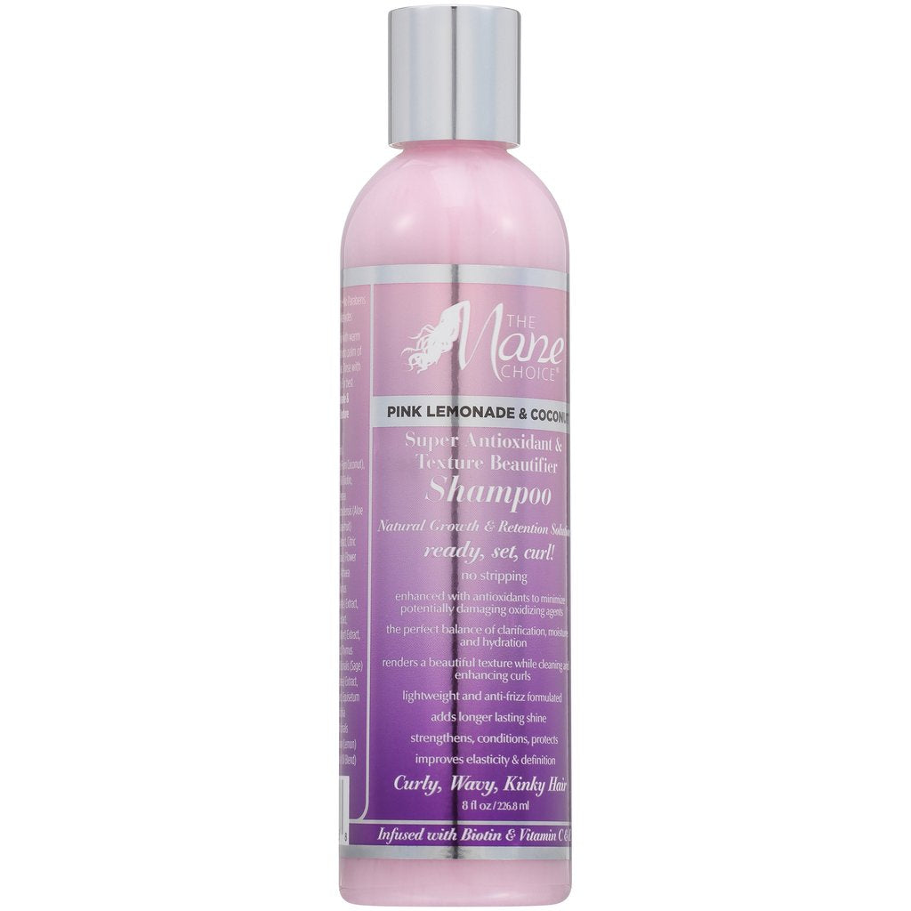 The Mane Choice Pink Lemonade & Coconut Super Antioxidant & Texture Beautifier Shampoo 226ml