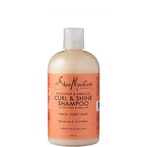SheaMoisture Coconut & Hibiscus Curl & Shine Shampoo 384ml