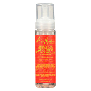 SheaMoisture Fruit Fusion Coconut Water Weightless Styling Mousse