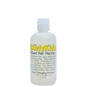 CurlyKids Mixed Hair HairCare Super Detangling Shampoo 236ml
