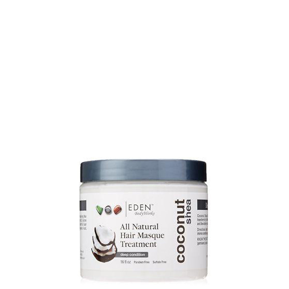 EDEN BodyWorks Coconut Shea All Natural Hair Masque 473ml