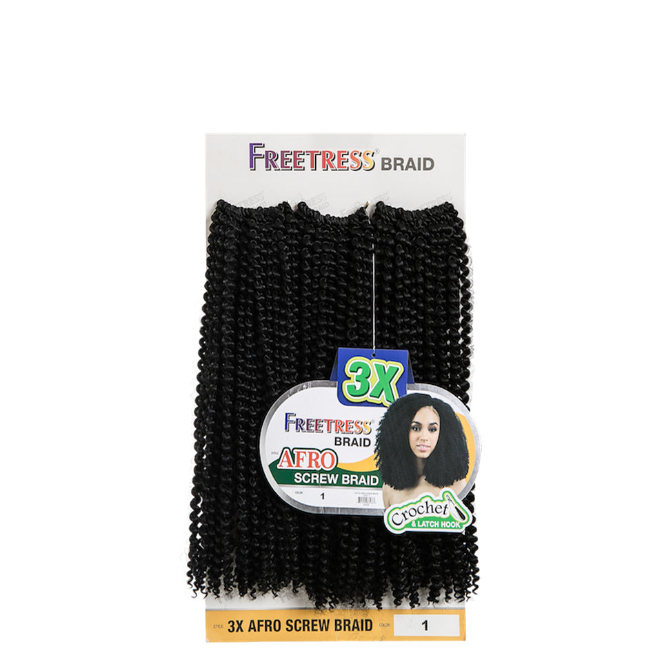 Freetress 3X Pre-Loop Crochet Deep Twist 16""