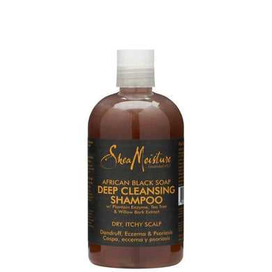 SheaMoisture African Black Soap Deep Cleansing Shampoo 384ml