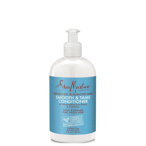 SheaMoisture Argan Oil and Almond Milk Smooth and Tame Conditioner 384ml