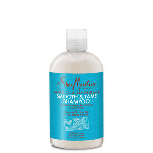 SheaMoisture Argan Oil and Almond Milk Smooth and Tame Shampoo 384ml