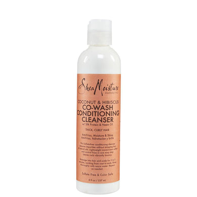 SheaMoisture Coconut & Hibiscus Co-Wash Conditioning Cleanser 237ml