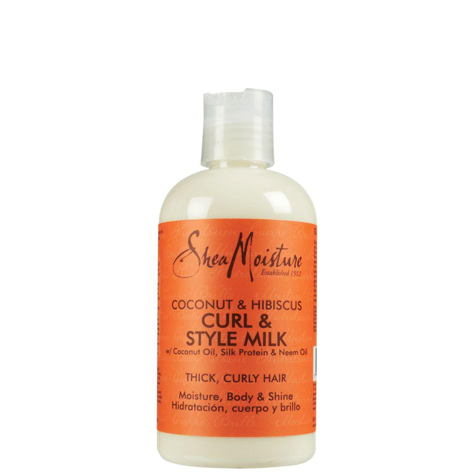 SheaMoisture Coconut & Hibiscus Curl & Style Milk 8oz/ 236ml