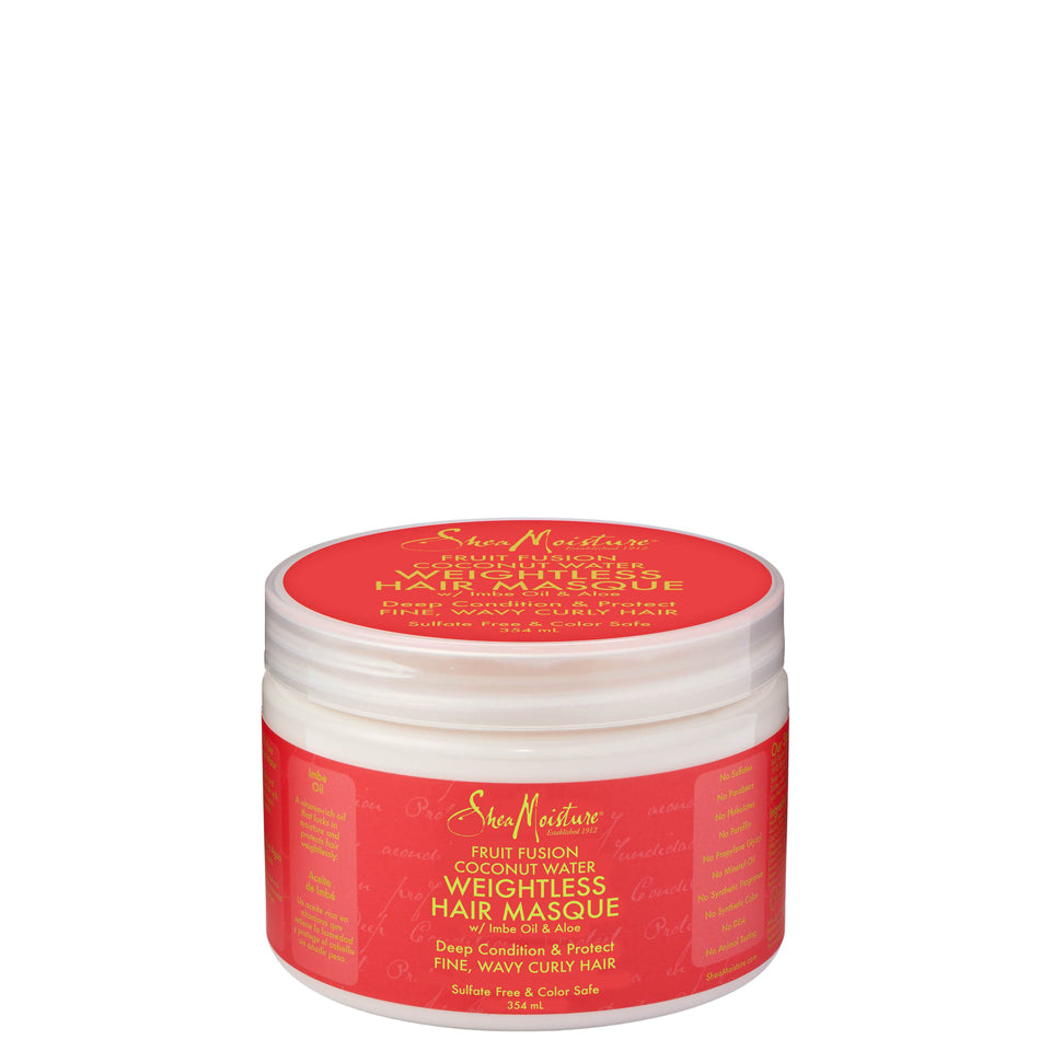SheaMoisture Fruit Fusion Coconut Water Weightless Hair Masque 354ml