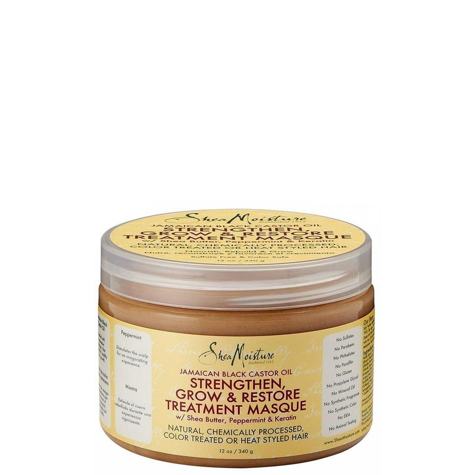 SheaMoisture Strengthen, Grow & Restore Treatment Masque Jamaican Black Castor