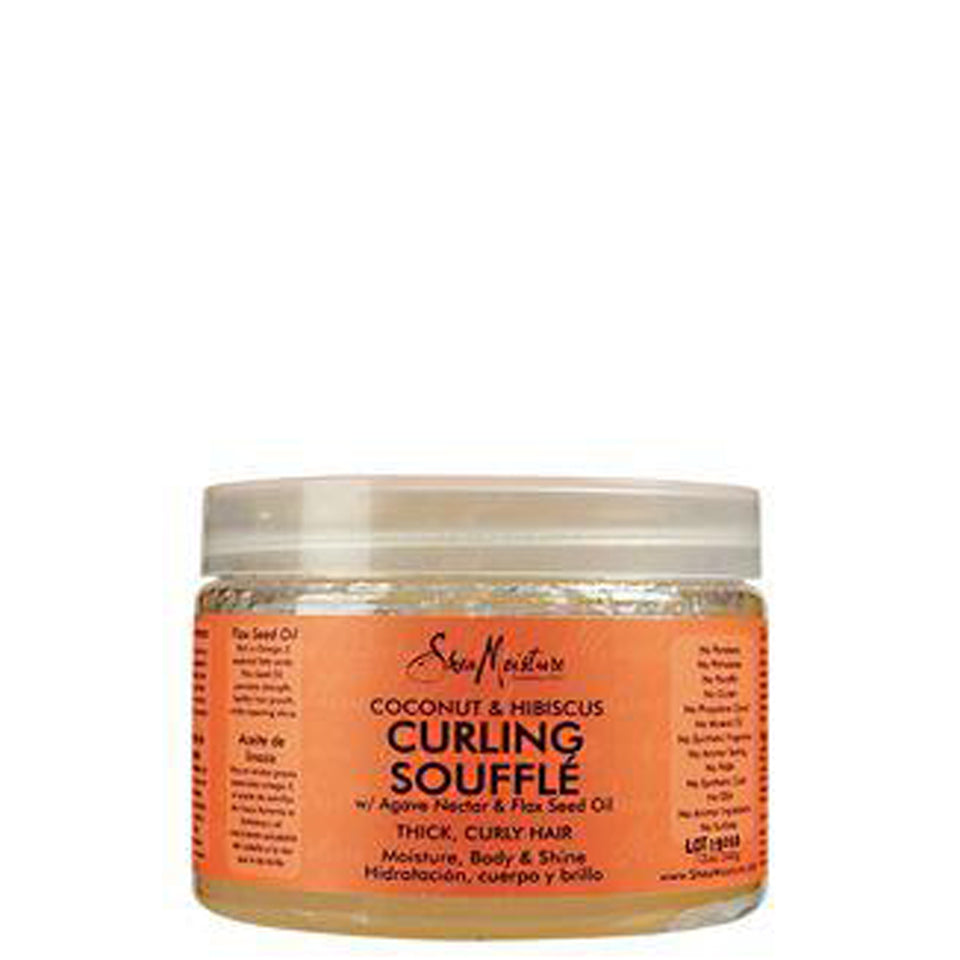 SheaMoisture Coconut & Hibiscus Curling Gel Souffle 12oz (340gr)