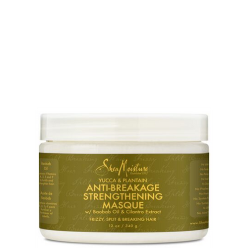SheaMoisture YUCCA & PLANTAIN ANTI-BREAKAGE STRENGTHENING MASQUE 340g