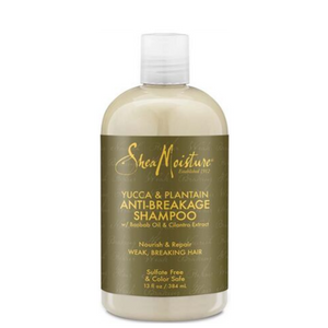 Shea Moisture YUCCA & PLANTAIN ANTI-BREAKAGE STRENGTHENING SHAMPOO 384ml
